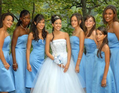 Imagenes de vestidos de damas de honor2