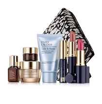 NIB ESTEE LAUDER 8-PC REVITALIZING SUPREME+ & MAKE UP SET - $150.00 VALUE - $28.04