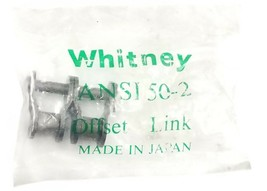 NEW WHITNEY CHAIN ANSI 50-2 OFFSET CHAIN LINK