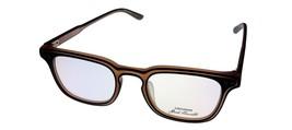 Converse Eyewear Mens Black Brown Plastic Square Frame P017 - $35.99
