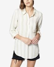 Sanctuary Milo Striped, Linen/Rayon Women's Shirt, Size Large & XLarge(U... - €31,47 EUR