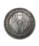 Hobo Nickel 1881-CC USA Morgan Dollar Wings COPPY COIN For Gift - $5.99