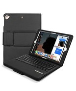 Vivefox iPad 9.7 Keyboard + Leather Case - 2018 iPad Folio Stand Cover, ... - $38.77