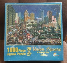"""Alexander Chen Union Square 1,000 Piece Jigsaw Puzzle New Sealed 20""""x27""""... - $34.64"""