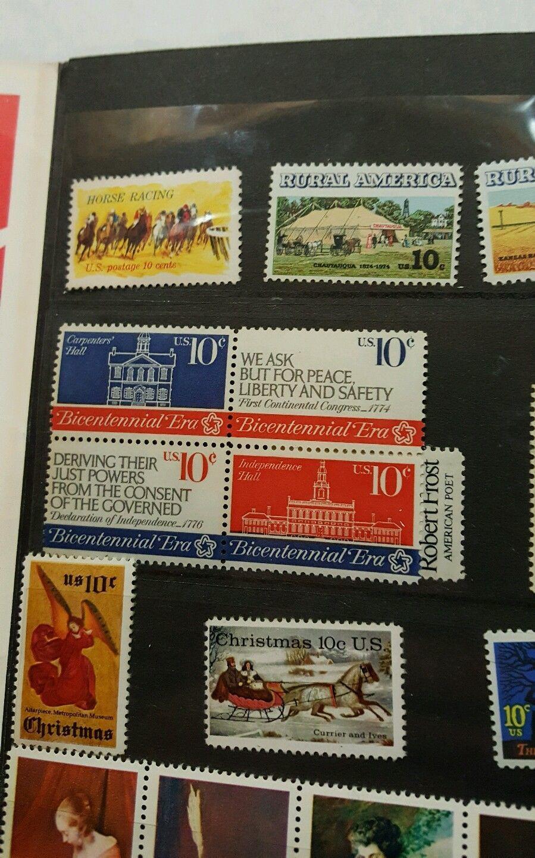 USPS 1974 Mint Set of Commemorative Stamps