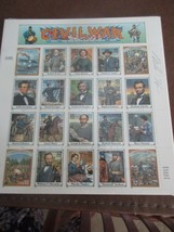 1995 USPS Scott 2975 U. S. American Civil War sheet --Signed by the Artist - $29.95