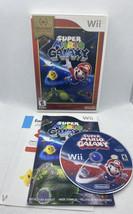 Super Mario Galaxy (Nintendo Wii, 2007) Nintendo Selects CIB Complete, T... - $19.80