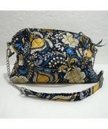 Vera Bradley ELLIE Paisley Silver Chain Strap Shoulder Bag Handbag Blue ... - $47.52