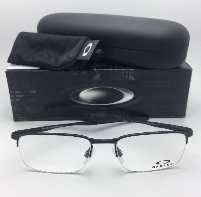 d1498b196b New OAKLEY Eyeglasses BARRELHOUSE 0.5 OX3174-0153 53-18 139 Matte Black  Frame