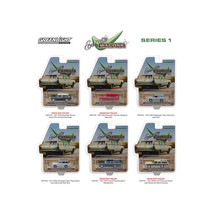 Estate Wagons Series 1, Set of 6 Cars 1/64 Diecast Models by Greenlight ... - $51.53