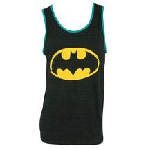 Batman Blue Trim Tank Top Black - $17.98