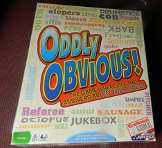 Oddly Obvious Box Boardgame-Endless Games-Complete - $12.00