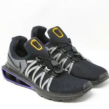 Nike Shox Gravity Zapatillas Running AR1999-005 Negro Mutli Morado Gris ... - $136.56