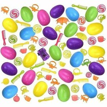 NEW Easter Eggs Hunt Surprise Toy 24-Pack Colorful Kids Party Favor Bask... - $8.72