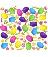 NEW Easter Eggs Hunt Surprise Toy 24-Pack Colorful Kids Party Favor Bask... - $9.69