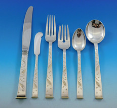 Golden Wheat by Miyata Sterling Silver Flatware Set For 12 Service 79 Pieces - $5,650.00