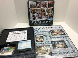 Friends Ultimate Trivia Game Collectible Tin Cardinal 100% Complete Seasons 1-8 - $44.50
