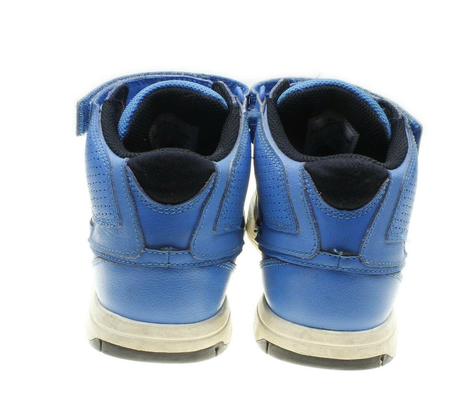 Nike Mogan Mid 2 JR Blue Black High Tops Sneakers US 4Y Womens 5.5 407716-441