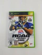 NCAA Football 2005 Microsoft Xbox 2004 Case Disc No Manual - $4.49
