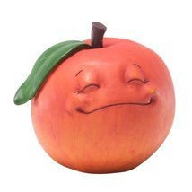 Enesco Home Grown Just Peachy Figurine, 2.75-Inch