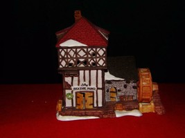 "SUPER SALE -Dept 56 Village-Blythe Mill Pond House- ""By the Pond""- '86- ... - $14.70"