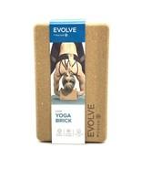 NEW Evolve by Gaiam Cork Yoga Brick Block-ECO Friendly - $18.32