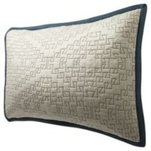 Threshold Contrast Stitch Standard Pillow Sham Quilted New - $16.15