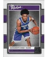 De'Aaron Fox Donruss 17-18 #5 The Rookies Sacramento Kings - $3.50