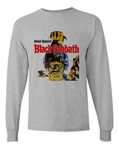 Black Sabbath Tee Boris Karloff retro vintage horror long sleeve distressed image 1
