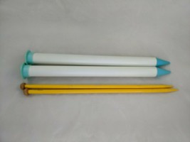Boye Knitting Needles Lot 13 and 50 Broomstick Lace  - $19.95