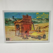 Surfite with Tiki Hut Model Kit Revell H-1240 Vintage 1993 1/25 Scale Se... - $37.95