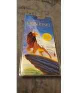 WALT DISNEY THE LION KING ORIGINAL MOTION PICTURE SOUNDTRACK CASSETTE TA... - $40.00