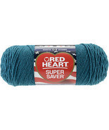 """Red Heart Super Saver Yarn-Real Teal, Set Of 3"" - $22.50 CAD"