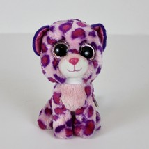 TY Beanie Babies Boo's Glamour Stuffed Collectible Plush Toy Pink Purple... - $4.99