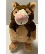 "Tree Kangaroo HM362 Webkinz No code Ganz 9"" Plush Stuffed Lovey Toy Brown - $11.21"