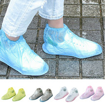Waterproof Rain Shoes Cover Anti-slip Reusable Flat Boots Overshoes Cove... - $38.70