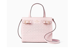 Kate Spade Milton Lane Saffiano Leather Small Lanie Satchel Pink Blush New  - £136.05 GBP