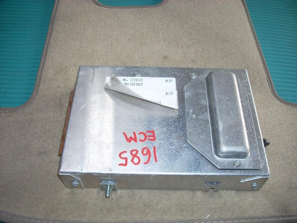 1989 CADILLAC ELDORADO ENGINE CONTROL MODULE 1228322