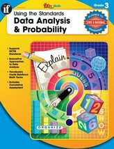 Instructional Fair Using The Standards Data Analysis and Probability Mat... - $2.95