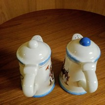 Paris & BeeBee Cow Girls Salt & Pepper Shakers   Made of Stoneware Set  image 3