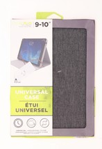 M-Edge New Folio Plus Universal Heather Grey Case For 9-10 Tablets Grey - $16.00