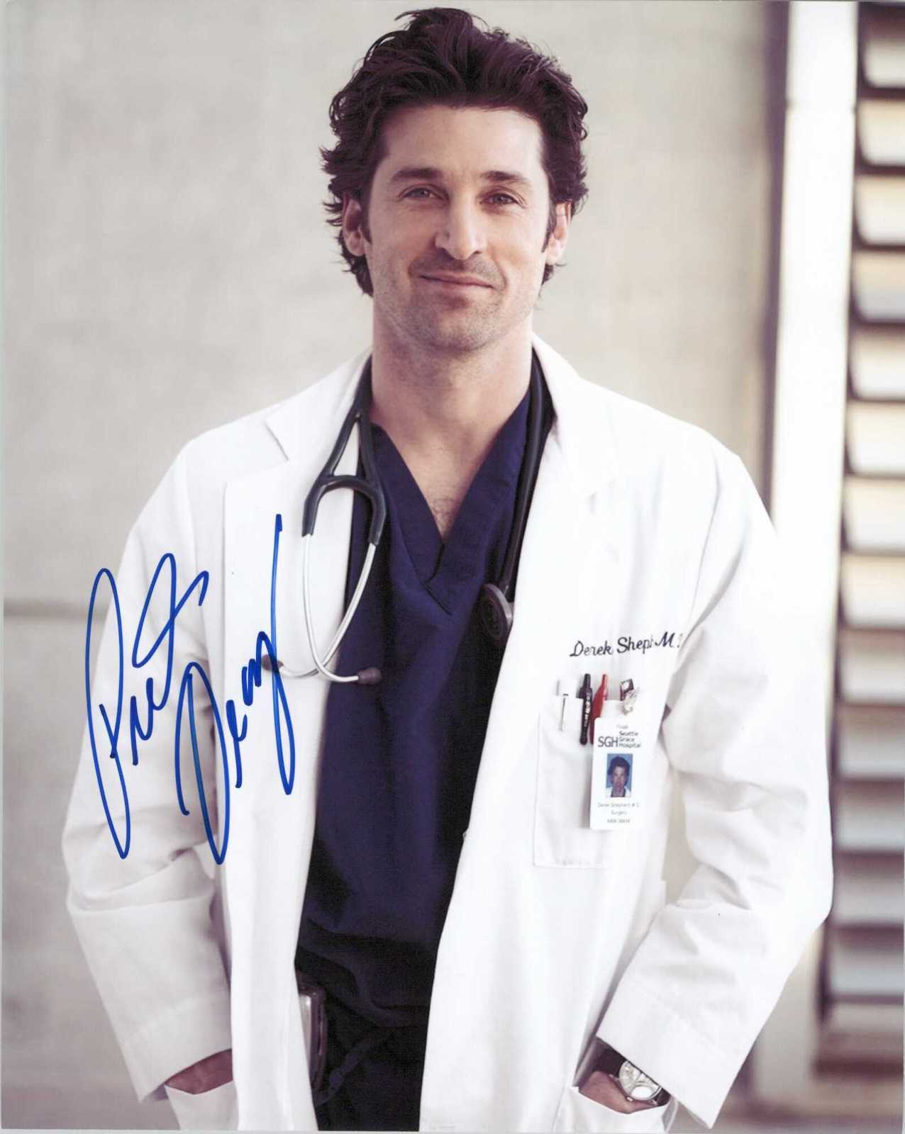 Primary image for Patrick Dempsey Signed Autographed ''Grey's Anatomy'' Glossy 8x10 Photo