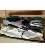 Nike Zoom Shift Silver Red Black 107063 Men's Size 7 Track Shoes New - $77.40