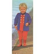 Boy Girl Drummer Boy Soldier Toy Teddy Bear Coat Sweater Knit Pattern 2-10 - $8.99
