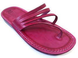 Leather Sandals for Women RAINBOW by SANDALIM Biblical Greek Roman Sandals - $39.83 CAD+