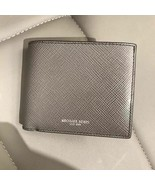 AUTHENTIC Michael Kors Men's Harrison Billfold with Passcase Wallet (Gre... - $68.31