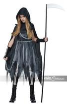 California Costumes Mietitore Bambina Gotico Death Halloween 00535 - $41.08