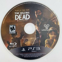 The Walking Dead- Game of the Year Edition (PlayStation 3, 2013) PS3 Dis... - $9.89