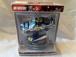 2011 Jimmie Johnson NASCAR Lowes Car Ornament - $14.25