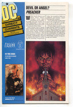 DC Direct Currents 85 1995 NM- Preacher 1 Promo TV Show Flash 100 - $38.83